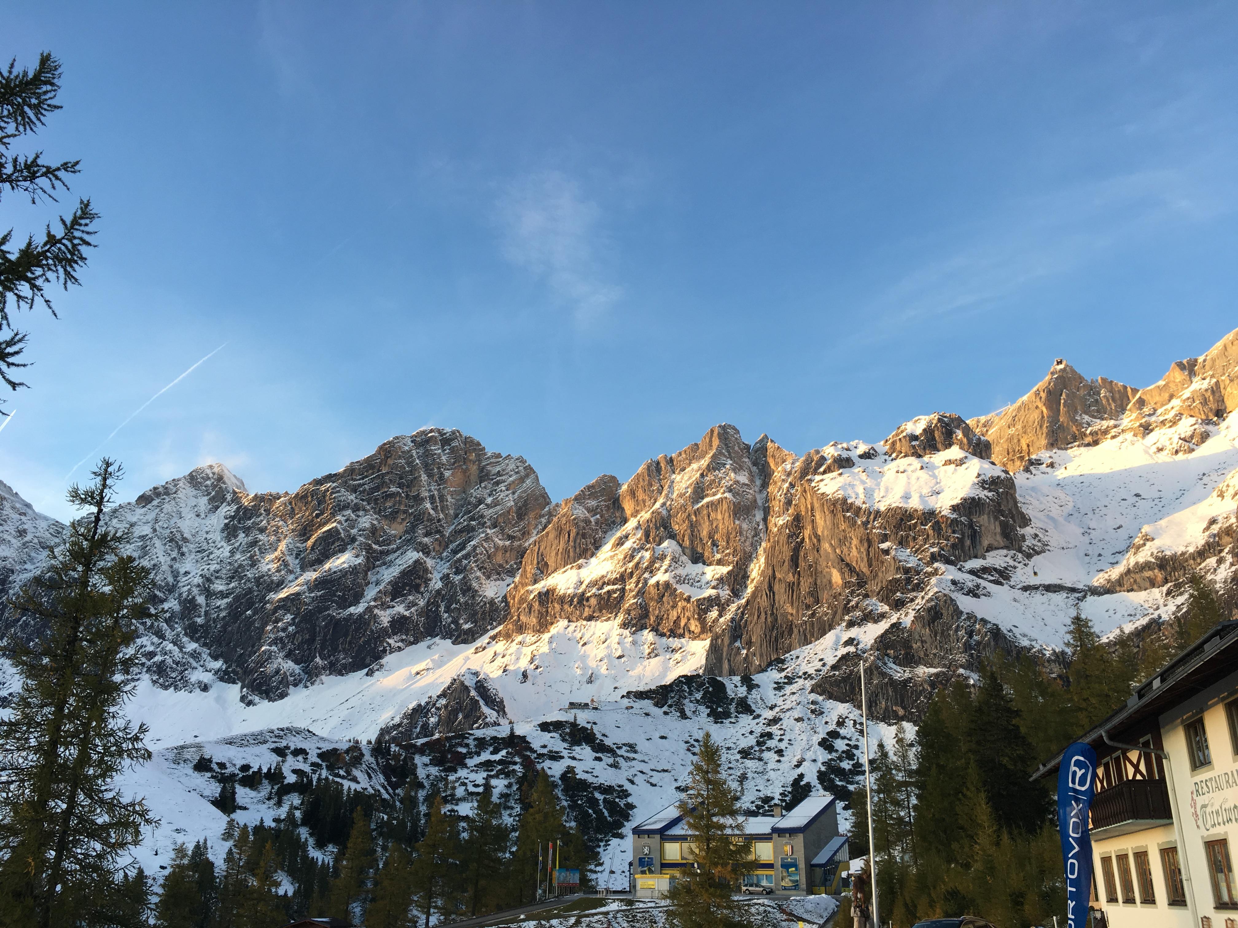 Hochtourenkurs Am Dachstein Gletscher Peaks Rosy Cheeks